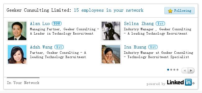 LinkedIn奇客网络